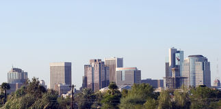 Panorama da baixa de Phoenix fotos de stock