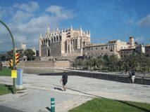 Panorama da catedral. Imagem de Stock