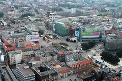 Panorama da cidade foto de stock