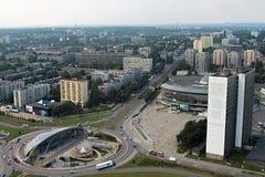 Panorama da cidade Fotos de Stock Royalty Free