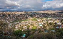 Panorama da cidade de Antananarivo, capital de Madagáscar Foto de Stock