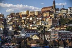 Panorama da cidade de Antananarivo, capital de Madagáscar Fotos de Stock Royalty Free