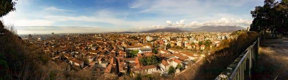 Panorama da cidade de Bríxia fotos de stock