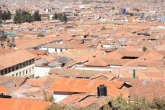 Panorama da cidade de Cusco Foto de Stock