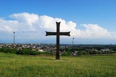 Panorama da cidade de Kutaisi Foto de Stock