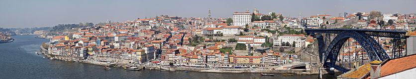 Panorama da cidade de Porto, Portugal. Imagens de Stock Royalty Free
