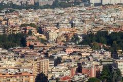 Panorama da cidade de Roma Fotos de Stock