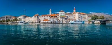 Panorama da cidade Trogir Imagens de Stock