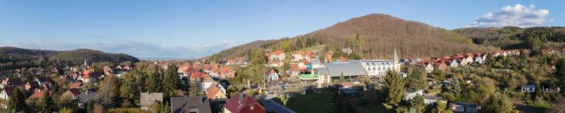 Panorama da cidade Wernigerode Imagens de Stock