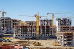 Panorama da construção Imagem de Stock Royalty Free