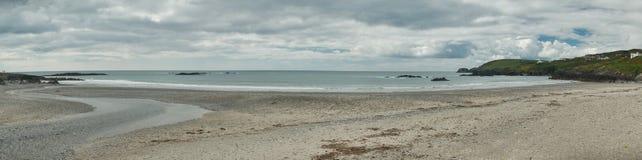 Panorama da costa longa, ireland Fotografia de Stock