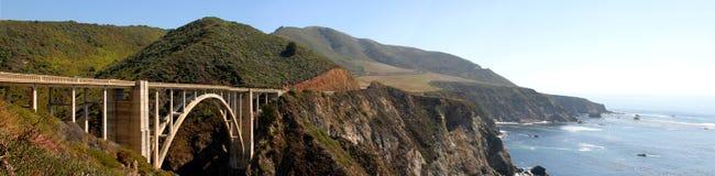 Panorama da estrada Fotografia de Stock Royalty Free