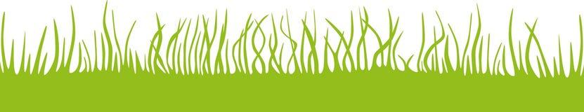 Panorama da grama/prado/gramado Fotos de Stock
