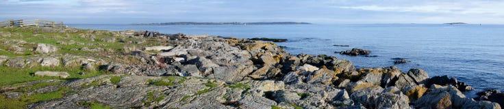 Panorama da ilha de Vancôver do sul, BC Canadá Fotografia de Stock