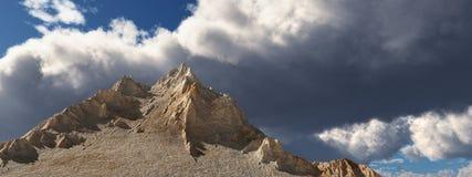 Panorama da montanha ilustração royalty free