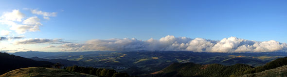 Panorama da montanha Foto de Stock
