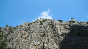 Panorama da montanha video estoque