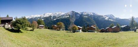 Panorama da montanha Fotografia de Stock Royalty Free