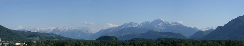 Panorama da montanha Imagem de Stock