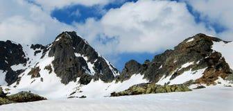 Panorama da montanha imagem de stock royalty free