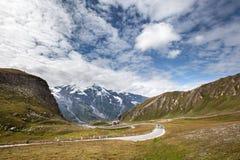 Panorama da montanha alta Imagem de Stock Royalty Free