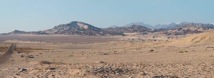 Panorama da montanha em Ras Mohamed, Egito, Sinai sul foto de stock royalty free