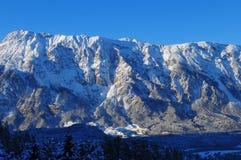 Panorama da montanha em Sautens, Ã-tztal, Tirol fotos de stock royalty free