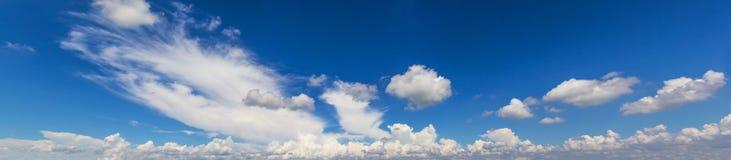 Panorama da nuvem Imagens de Stock