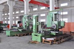 Panorama da oficina da fábrica Imagem de Stock Royalty Free
