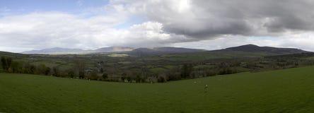 Panorama da paisagem da Irlanda Imagens de Stock