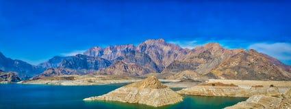 Panorama da paisagem de Omã Fotos de Stock