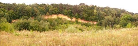 Panorama da paisagem de Ucrânia Foto de Stock Royalty Free