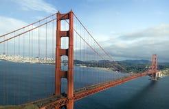 Panorama da ponte de porta dourada imagens de stock royalty free