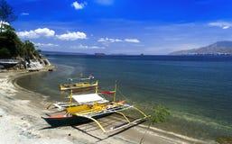 Panorama da praia. Imagem de Stock