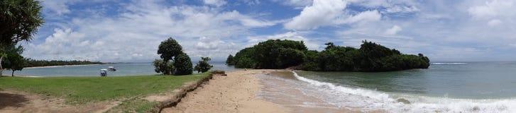 Panorama da praia de Bali Imagem de Stock