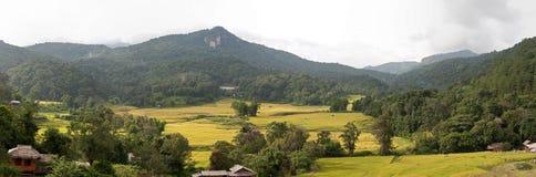 Panorama da região de Chiang Mai imagens de stock
