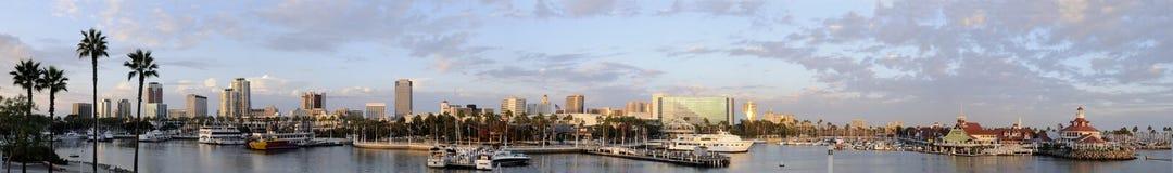 Panorama da skyline Imagens de Stock Royalty Free