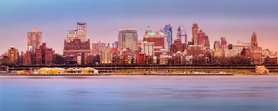 Panorama da skyline de Brooklyn Imagem de Stock Royalty Free