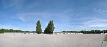 Panorama Dachau Photographie stock libre de droits