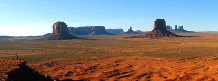 panorama- dal för monument Arkivbild