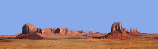 panorama- dal för monument Royaltyfria Bilder