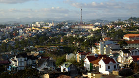 Panorama, Dalat city, Vietnam, Da Lat Royalty Free Stock Image