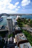 Panorama dall'hotel intercontinentale sydney Il Nuovo Galles del Sud l'australia Fotografie Stock
