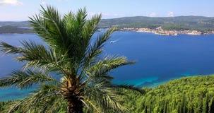 Panorama Dalmatië, Kroatië Stock Afbeelding