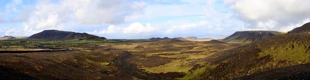 panorama- dalsikt arkivbild