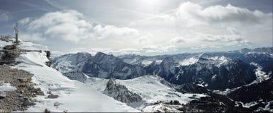 Panorama das dolomites Imagens de Stock Royalty Free