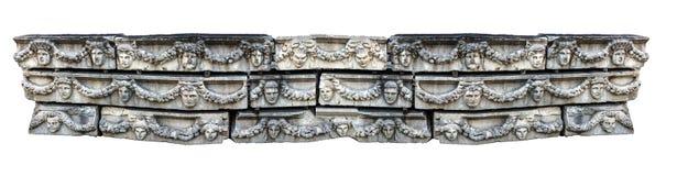 Panorama das máscaras gregas Fotografia de Stock Royalty Free