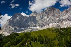 Panorama das montanhas Imagens de Stock