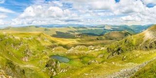 Panorama das montanhas Carpathian Imagens de Stock Royalty Free