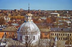 Panorama of Daugavpils Royalty Free Stock Photos